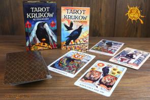 Tarot kruków – karty + książka  Mj Cullinane