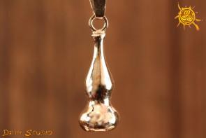 Tykwa wisior srebro FENG SHUI - zdrowie, ochrona, równowaga