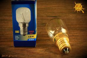 Żarówka 15W  230V do lamp solnych