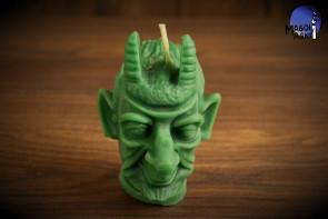 Zielona Świeca Diabelska diabeł - rytuał oczyszczenia, przywrócenie zdrowia