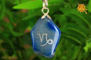Agat wisiorek znak zodiaku KOZIOROŻEC - talizman, amulet dla KOZIOROŻCA 22.12 – 19.01