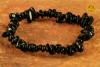 Czarny Turmalin bransoletka wąska - silnie chroni, oczyszcza, rozprasza lęk
