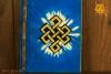 Notes Notatnik Zeszyt Węzeł Nieskończoności papier czerpany  - do zapisywania magicznych zaklęć, receptur, rytuałów, afirmacji
