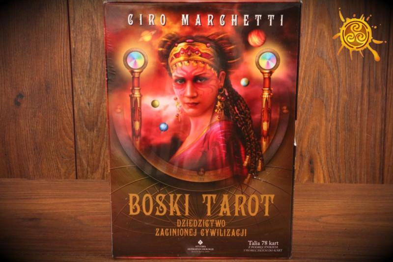 Boski Tarot - Ciro Marchetti książka i karty Tarota