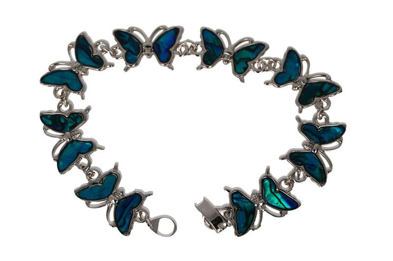 Motyl bransoletka Abalon Muszla  - piękno życia, harmonia, ochrona
