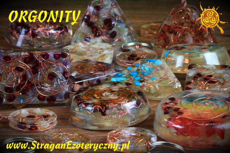 Orgonit CZAKRY prostokąt - przetwarzanie negatywnej energii w pozytywną, zdrowie