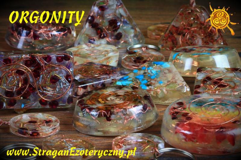 Orgonit PODSTAWKA pod np. napoje odcień CZERWONY – przetwarzanie negatywnej energii w pozytywną, zdrowie