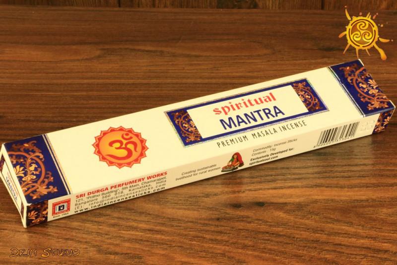 Kadzidełko Spiritual MANTRA pyłkowe - medytacja, równowaga, duchowość