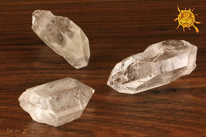 Kryształ Górski naturalny 10-24g SZPIC- dobre myśli, transformacja, zdrowie