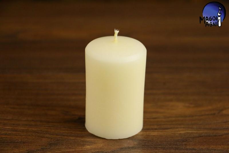 Biała Świeca rozmiar XL - podnoszenie wibracji, równoważenie aury, ochrona