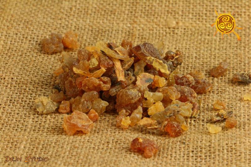 Mirra Myrrh kadzidło żywiczne 50g - oczyszcza ciała subtelne, działa antydepresyjnie