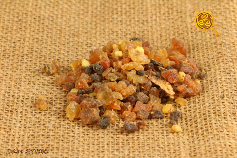 Mirra Myrrh kadzidło żywiczne 25g - oczyszcza ciała subtelne, działa antydepresyjnie