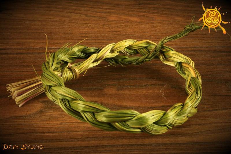 Sweet Grass słodka trawa - harmonia w pomieszczeniu, oczyszczenie, podniesienie wibracji