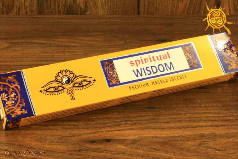 Kadzidełko SPIRITUAL WISDOM pyłkowe - medytacja, podwyższenie energii, oczyszczenie i ochrona